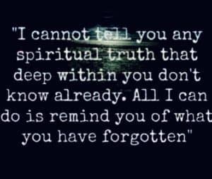 spiritual truth